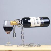 매직체인 와인홀더 - 실버체인