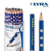 LYRA - 리라 그루브 슬림 연필 48자루 HB / 연필잡기 연습