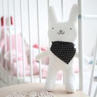 [꼼지] 흰색 토끼인형 만들기 D.I.Y