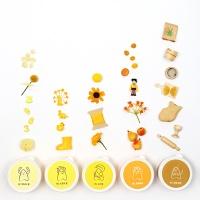 [아리부바] 클레이 그라데이션 : 노랑계열 Set