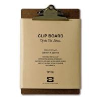 [PENCO] CLIPBOARD O/S A5-BRONZE CLIP