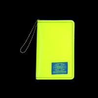 GRID CARD WALLET_NKC_NEON YELLOW