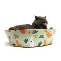 [봉봉펫닷컴] 고양이 스크래쳐 미니 바구니