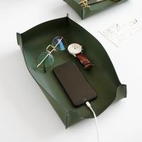 Edge leather Tray - Large