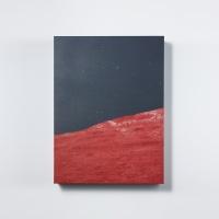 [타이드]인테리어소품 캔버스액자 유토피아(붉은언덕)