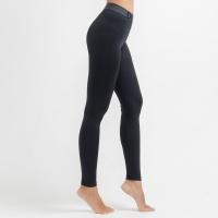 여성운동복 스트레치 이너 요가레깅스 DFW4021 블랙