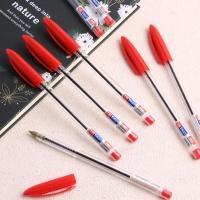 스마트 사무용 볼펜 10p세트(빨강)