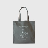 MarketBag Snowman-Charcoal