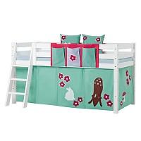 [까쁘레띠] 호페키즈(hoppekids) 포레스트 중층 침대 주머니 세트