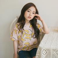 [보니스텔라] 17SS375 바나나 티셔츠