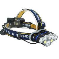 6 LED 2 COB 충전식 헤드랜턴 CH1414275