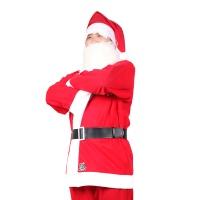 산타복+모자+벨트(성인용)일반3종
