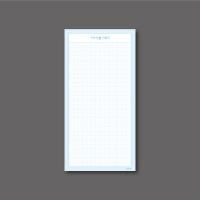 [mmim] 장메모지 (5) 기억인출기록지 (B)