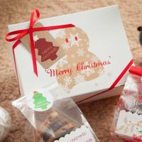 크리스마스 눈사람 상자 포장세트 (1set)