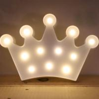 LED 앵두전구 조명등 (왕관 화이트)