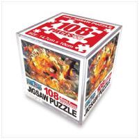 원피스 직소퍼즐 미니 Cube 108pcs: 불굴의 투지
