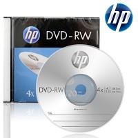 HP 공DVD-RW 4.7GB 4x 슬림케이스 10장