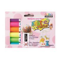 패브릭마카560 6색형광세트 (UCHIDA) (세트)250814