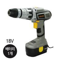 툴콘 충전 햄머 드릴18V(배터리 1개) TC-1800HM(B1)
