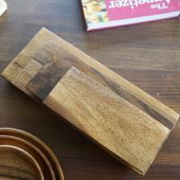 따뜻한우드 아카시아 초밥도마 4가지 사이즈