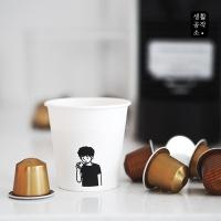 [생활공작소] 일회용 종이컵 1000ea(1BOX)