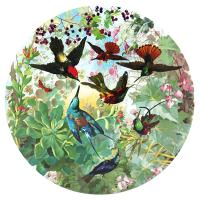 귀여운 벌새들 500피스 직소퍼즐 (지름 58.5cm)