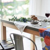 [채우리] 픽스 콘크리트 1800 6인 식탁 테이블