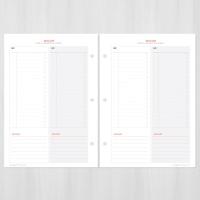 A5초음파앨범(임신다이어리) 리필내지-TO DO LIST SET