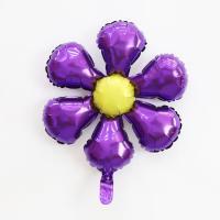 은박 꽃풍선 50cm (퍼플)