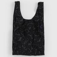 [바쿠백] 대형 빅사이즈 에코백 장바구니 Black Constellation