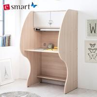 [e스마트] 보급형B 독서실책상+LED스탠드