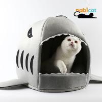 나비캣 상어하우스 상어집 펫하우스 고양이집 애견집