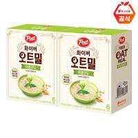 포스트 화이버 오트밀 애플모닝 180g 2개