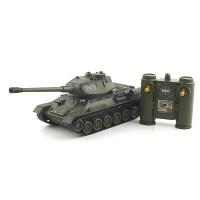 1/28 2.4GHz 러시아 T34 탱크  (YAK161423KH) 배틀탱크 무선모형 RC