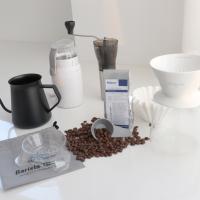 드립핑크 홈카페 커피핸드드립기구 모두세트