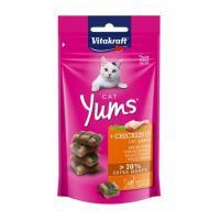 비타크래프트 캣얌 치킨&캣그라스 40g 고양이간식