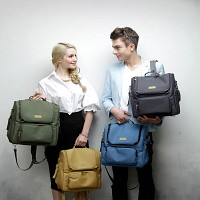 포노피노 프리미엄 기저귀백팩 유모차가방 숄더백 기저귀가방