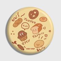 [어프어프] 손거울 Bakery-prim yellow