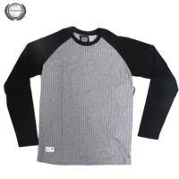 [THE BERRICS] RIFF RAGLAN KNIT L/S (Heather Grey)
