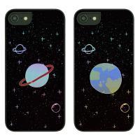 아이폰6S케이스 우주낙서 샤이닝케이스