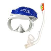 AQA 물유입방지 스노클링 세트 KZ-9055L 여성용