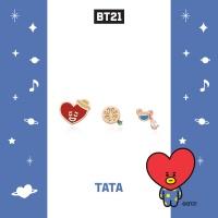 [BT21] 실버 피어싱 : 타타 OTPB19721QPX