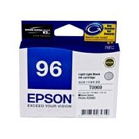 엡손(EPSON) 잉크 C13T096990 / NO.96 / Light Light Black / Stylus Photo R2880
