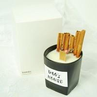 두쓰하우스 시나몬소이캔들 9oz (선물용 종이박스 포함)