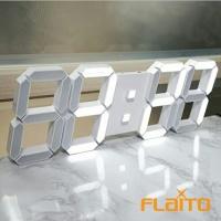 플라이토 3D LED 무소음 벽시계 FL-100