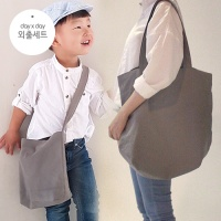 [데이데이]엄마랑 외출세트(양면 에코백+양면 에코 크로스백)