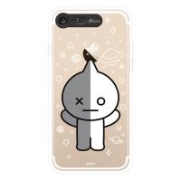BT21 iPhone8 /7 반 클리어 라이팅 케이스 (SOFT)