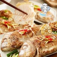 [엔젤쿡] 자연산 손질적돔(도미) 중대 1kg(3~5미) AGCHJS0610
