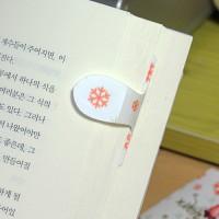 [플라스틱 and 자석 자동책갈피] 자동책갈피 수지인 : 눈꽃 머핀