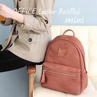 OFFICE Leather BackPack mini 오피스 레더 백팩 미니